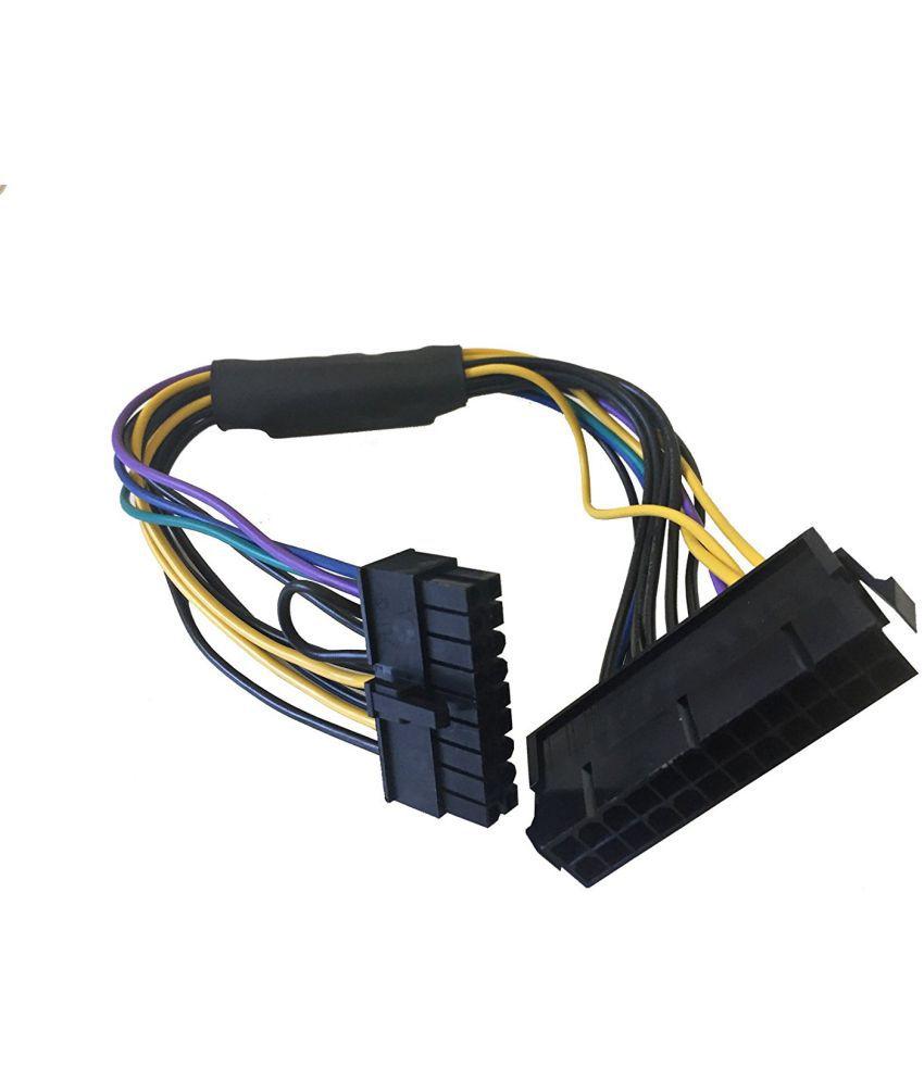 AYA 11-inch 24-Pin to 18-Pin ATX Power Supply Cable Adapter
