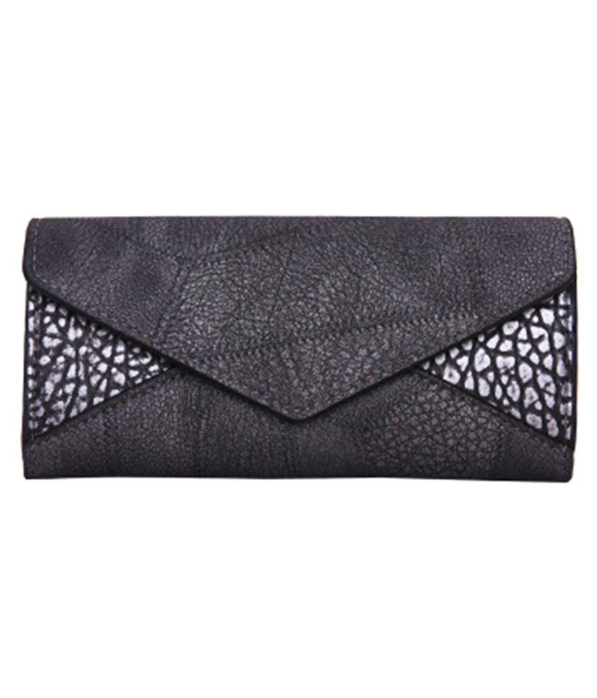 ZELP Gray Pure Leather Handheld