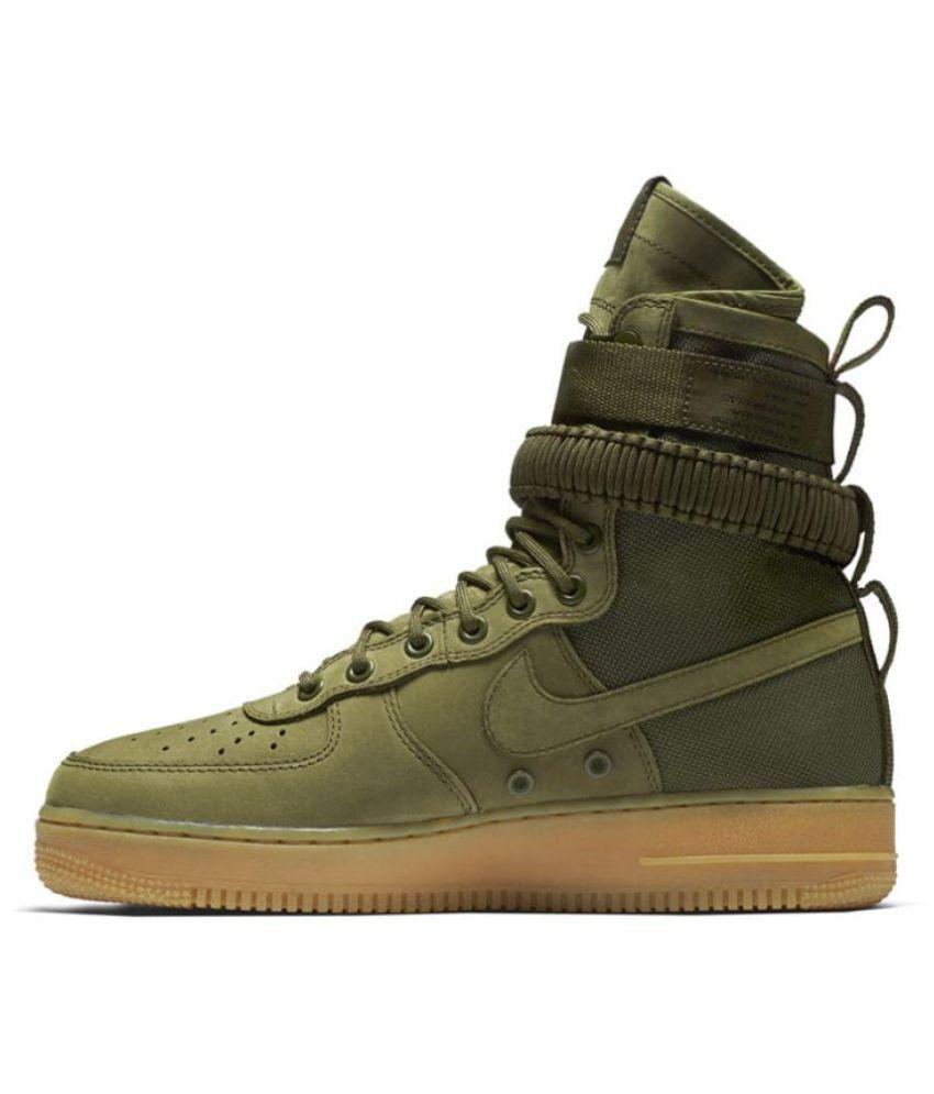 Nike Air Force SF 1 High Green Training