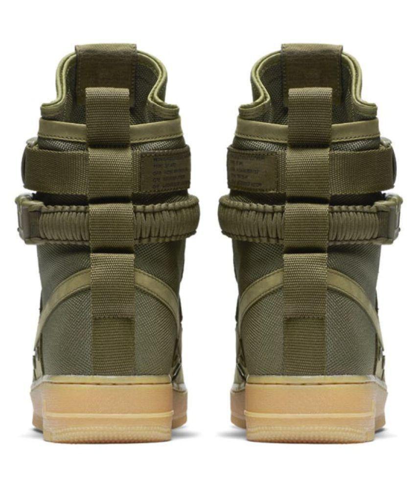 3e520162c23a Nike Air Force SF 1 High Green Training Shoes - Buy Nike Air Force ...