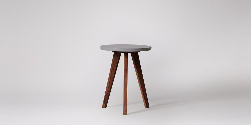 Winger Rounded Side Table