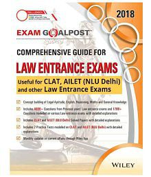 Wiley'S Exam Goalpost Comprehensive Guide For Law Entrance Exams