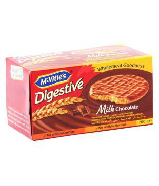 Mcvities Milk Chocolate Digestives Low Calorie Biscuits