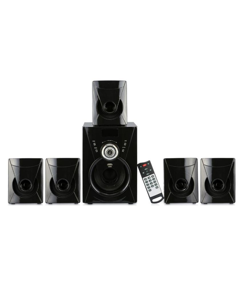 buy i kall ik111 5 1 5000 pmpo watts channel bluetooth speaker rh snapdeal com