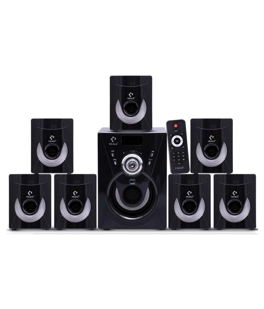 buy i kall 7 1 speaker 7000w pmpo with bluetooth component home