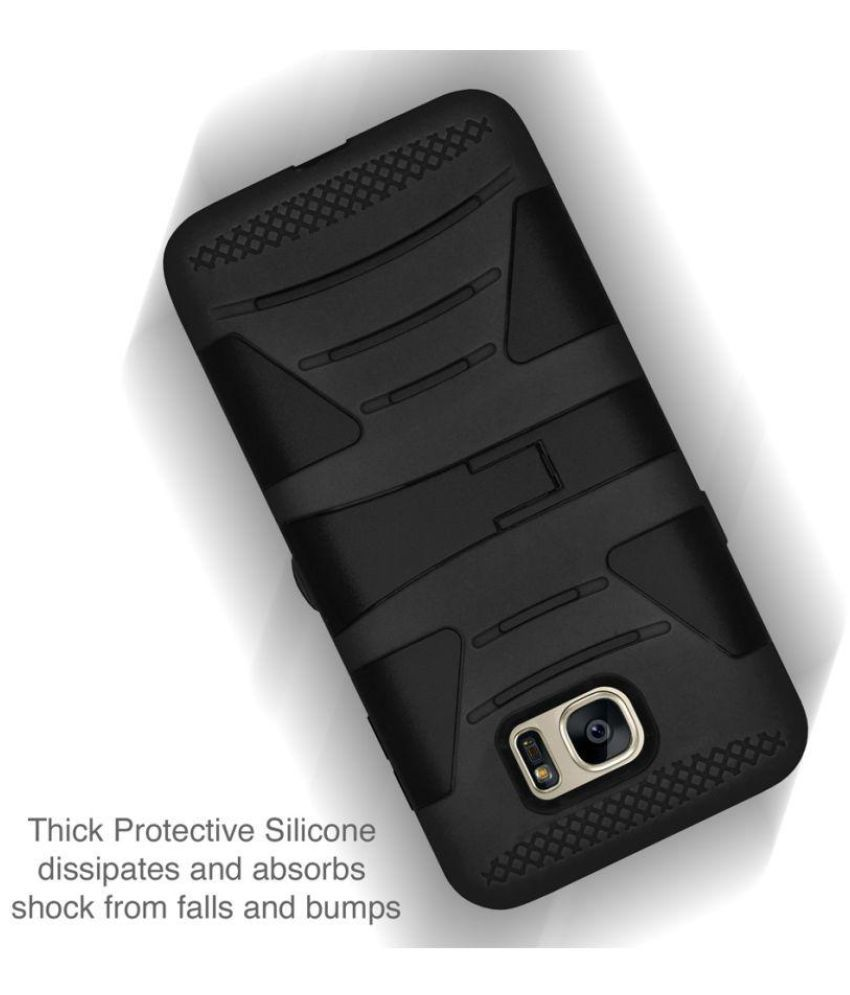 quality design 4dc54 d2fec Samsung Galaxy S7 Cases with Stands Amzer - Black