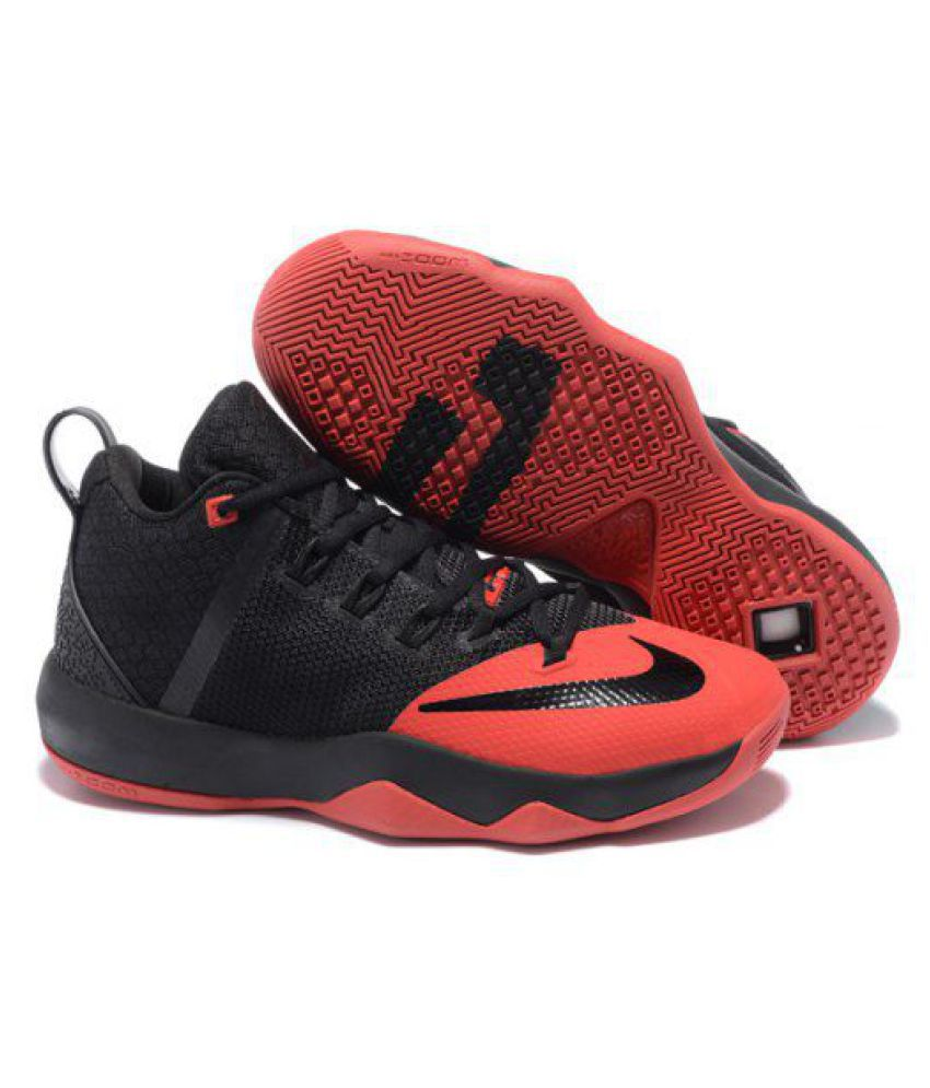 the latest e3400 4c6a3 Nike lebron ambassador 9 Black Basketball Shoes - Buy Nike lebron ambassador  9 Black Basketball Shoes Online at Best Prices in India on Snapdeal