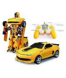 Kashish Toys Fantastic Transformers Remote Control Kids Car.
