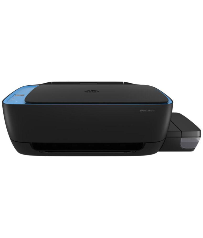 HP 319 Multi Function Print Scan Copy Colored Inktank Printer