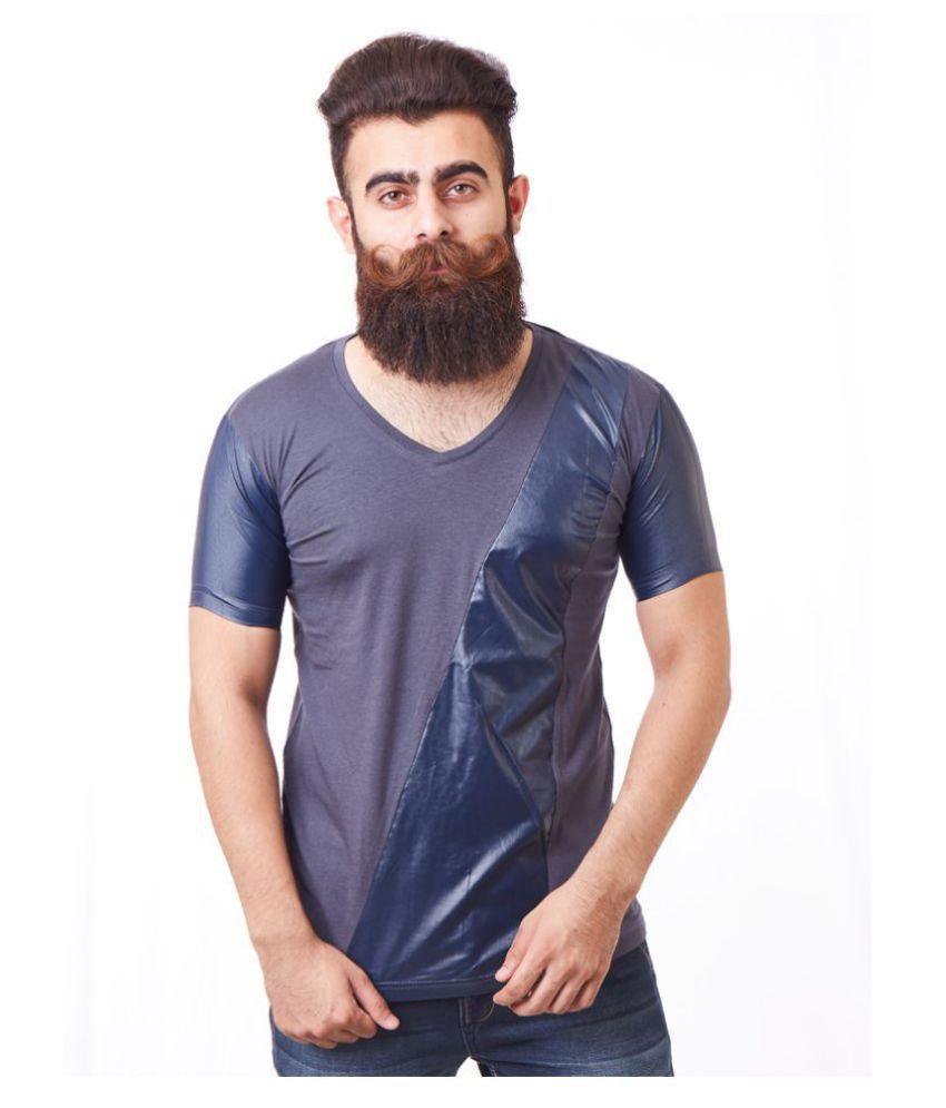 Rellin Navy V-Neck T-Shirt