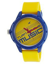 fastrack 38019pp08 mens watch