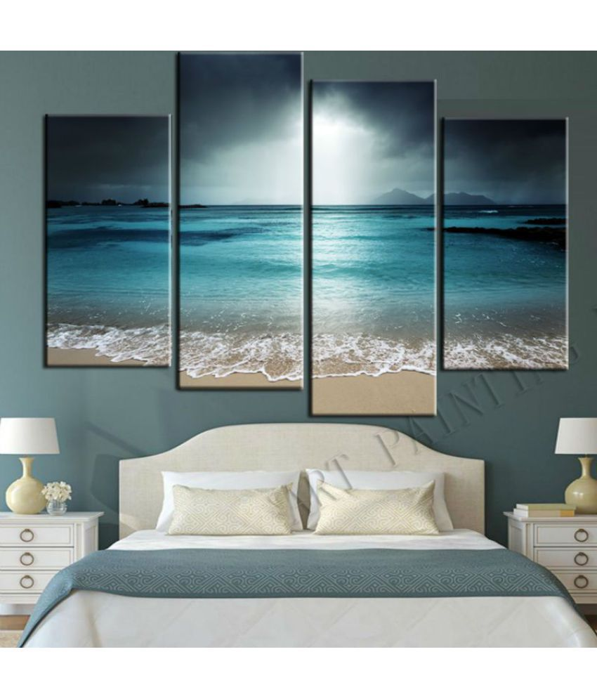 Beautiful Sea Digital Canvas Printing without Frame AHDCP-13