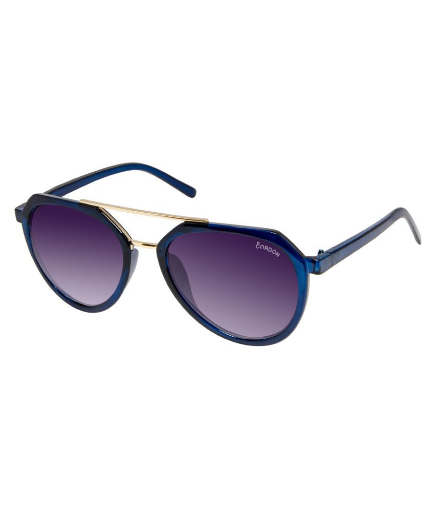 Cardon Blue Aviator Sunglasses ( 644 )