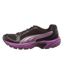 Puma Black Running Shoes