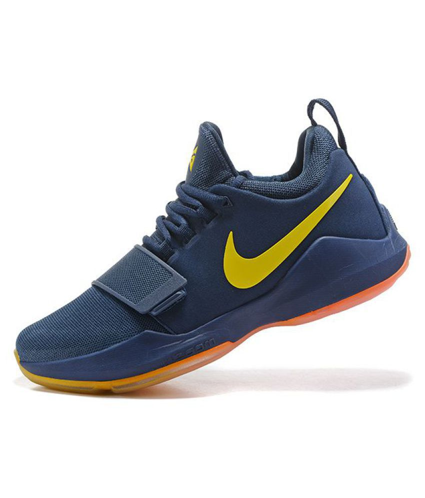Nike Zoom Pg 1 Blue Basketball Shoes Buy Nike Zoom Pg 1 Blue