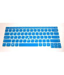 Semi-Blue High Quality Ultra Thin Soft Silicone Gel Keyboard Protector Skin Cover for Lenovo ThinkPad X1 Carbon 14-Inch Ultrabook(