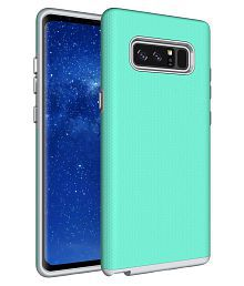 Galaxy Note 8 Case, XRPow Dual Defender Protection Case Slim Rugged Shock Drop Proof Impact Resist Protective Cover for Samsung Ga