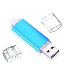 nexShop 4GB USB 2.0 OTG Pendrive Pack of 1
