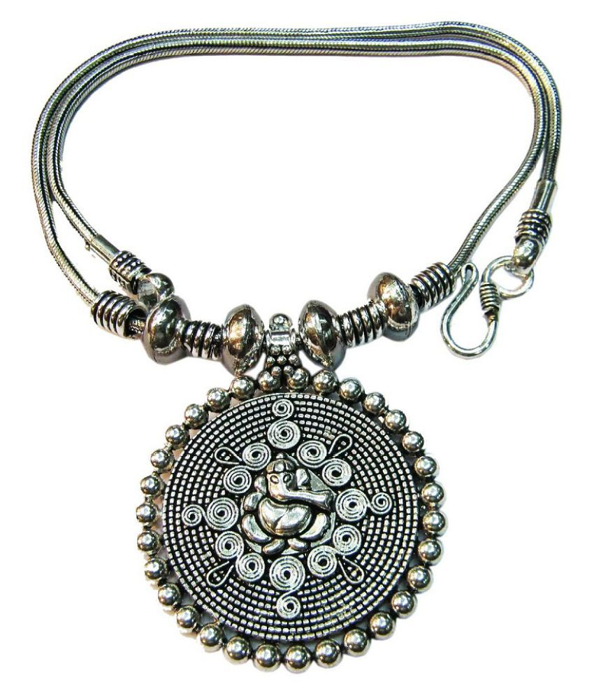 vinayak magnificent tribal necklace (Ganpathi)