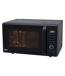 LG 27 to 32 Litres LTR MC2886BFUM Convection Microwave black