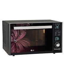 LG 27 to 32 Litres LTR MJ3286BRUS Convection Microwave Black