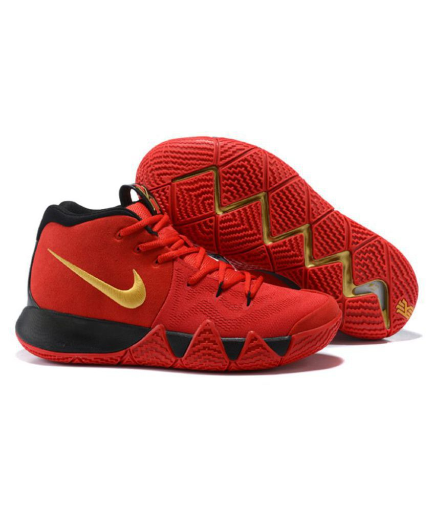 the latest 74659 b02e7 Nike Kyrie 4 Blood Red Basketball Shoes - Buy Nike Kyrie 4 Blood Red  Basketball Shoes Online at Best Prices in India on Snapdeal