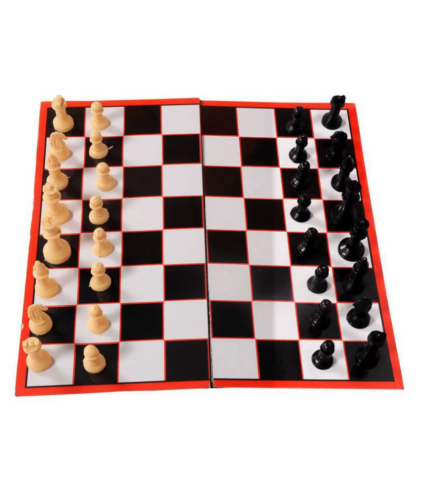 GSI Wooden Multicolor Chess L