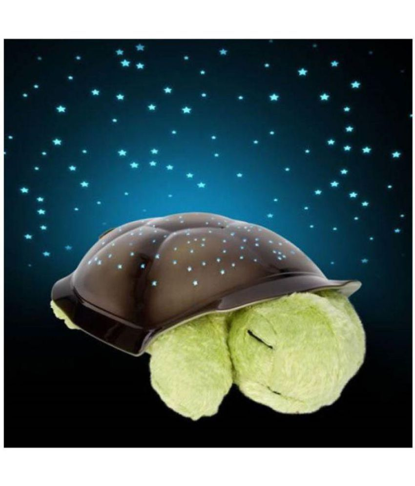 Ibs turtle night light music projector kids room lamp night sky constellations moving stars for Michal turtle music from the living room