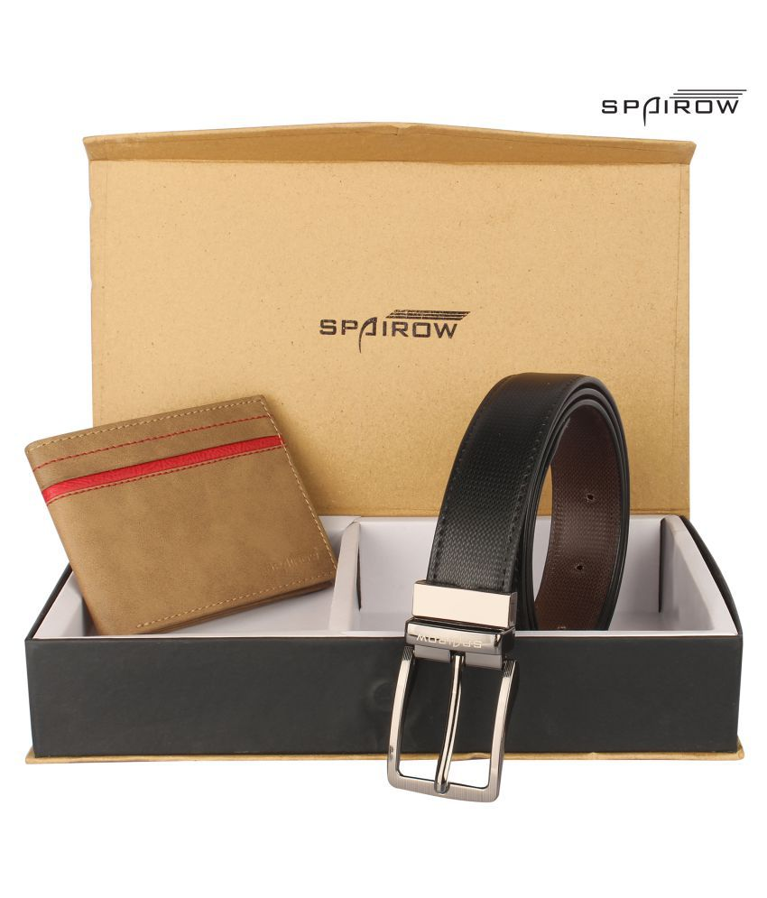 Spairow Multi Faux Leather Casual Belts
