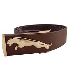 ASF Brown Leather Party Belt