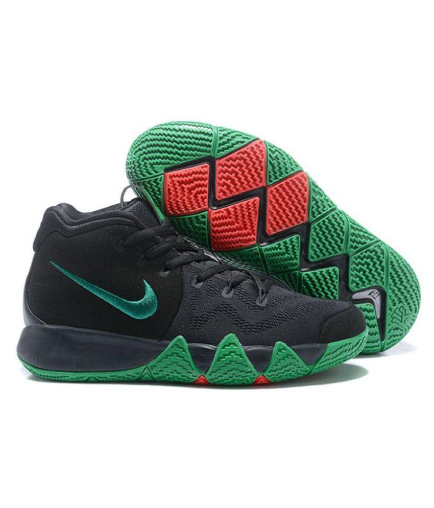 cfdbbbabb6 Nike Kyrie 4 Black Basketball Shoes - Buy Nike Kyrie 4 Black ...