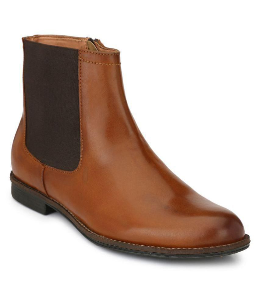 Delize Brown Chelsea Boot Buy Delize Brown Chelsea Boot Online At