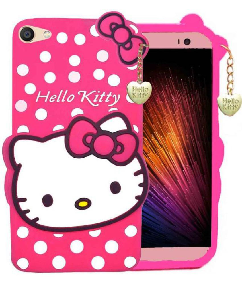 new product 1df47 71bc1 Oppo F3 Plus Dual Selfie Camera 3D Back Covers By Doyen Creations Hello  Kitty