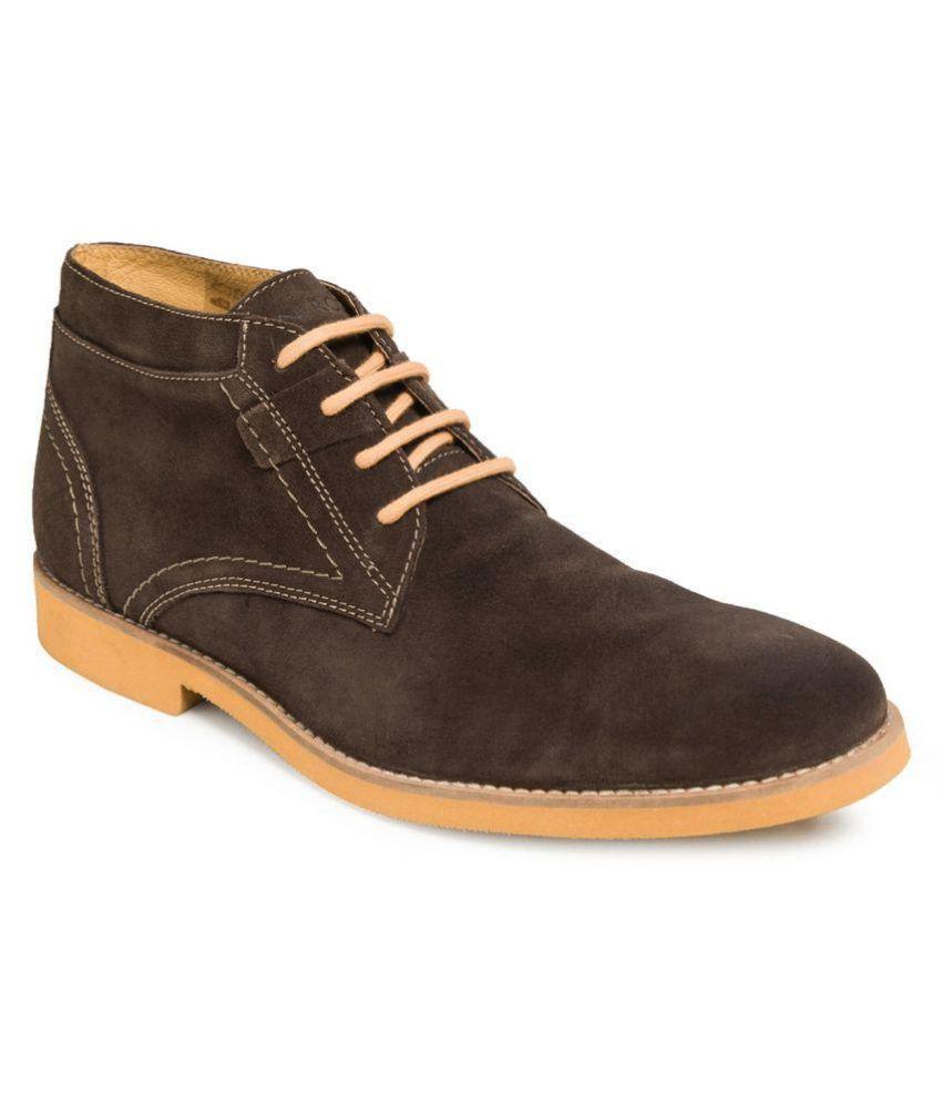 TONI ROSSI Brown Chukka boot