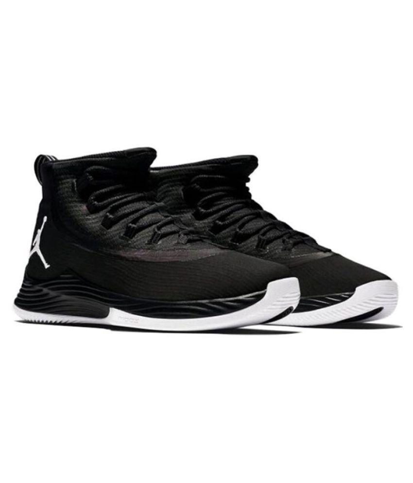 fd2d8116fbd Jordan Ultra fly 2 Black Running Shoes - Buy Jordan Ultra fly 2 ...