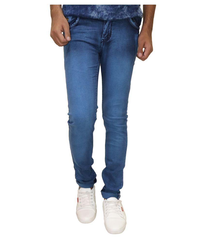 DREAM VISION Light Blue Regular Fit Jeans
