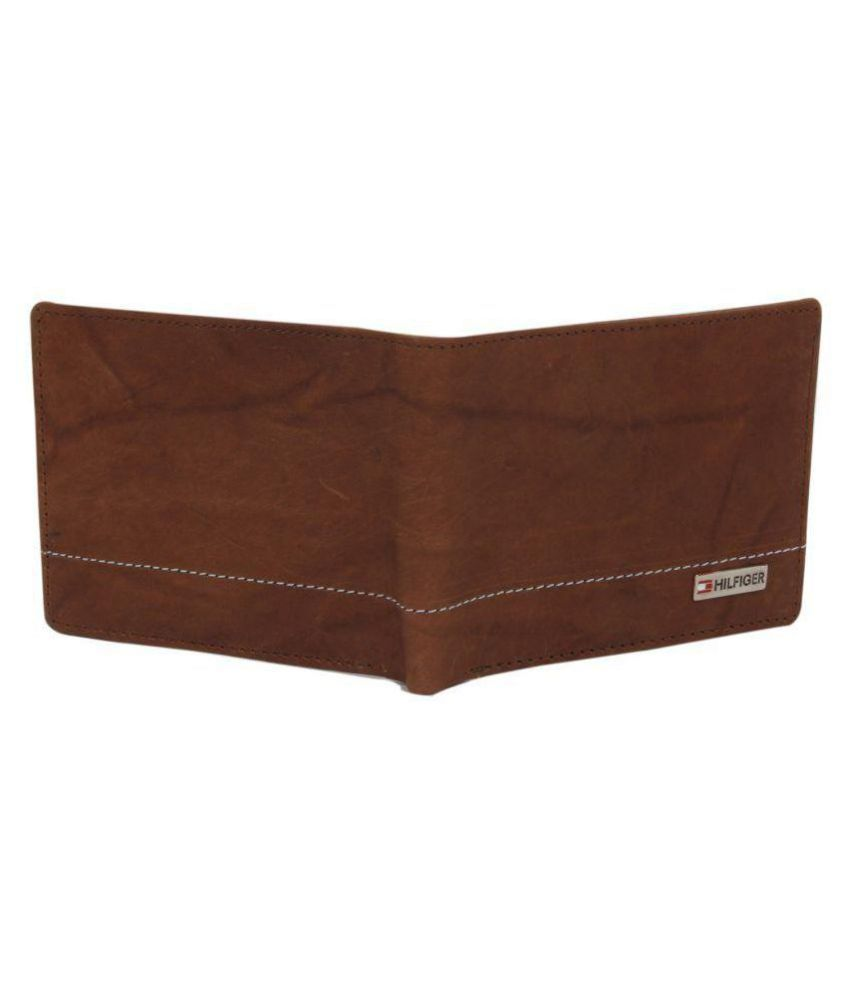 81a50999a Tommy Hilfiger Leather Brown Casual Regular Wallet: Buy Online at ...