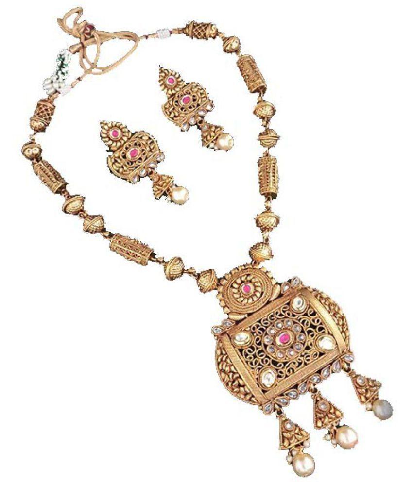 armsah 95.5 Yellow Gold Necklace Set