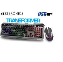 e9cf6c31216 Quick View. Zebronics Transformer - Premium Gaming Keyboard and Mouse Combo  ...