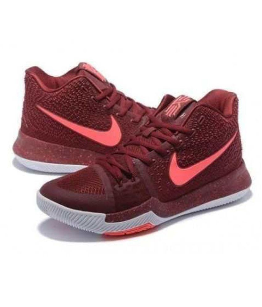 newest 94452 e7ca1 ... get nike kyrie 3 irving maroon basketball shoes 18758 88c83