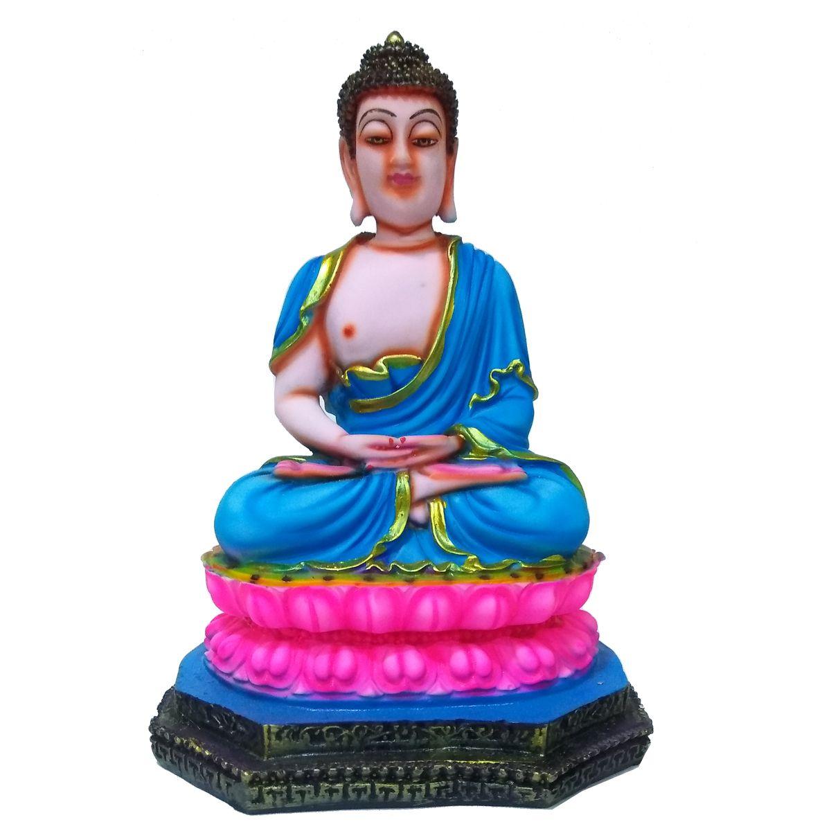 VIDHI ARTS Buddha Polyresin Idol
