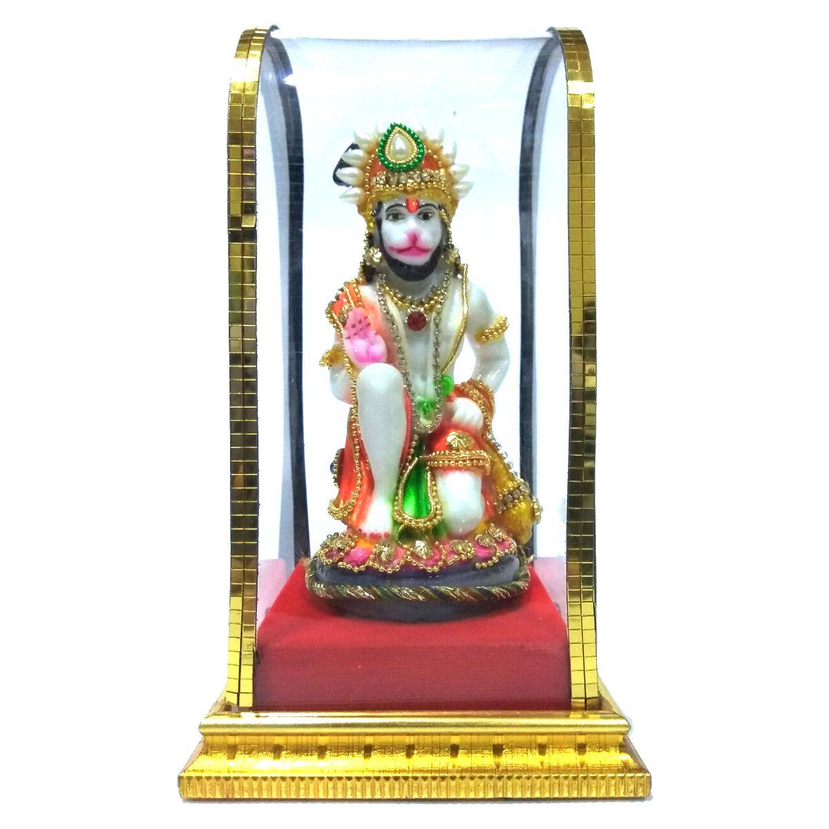 VIDHI ARTS Hanuman Polyresin Idol