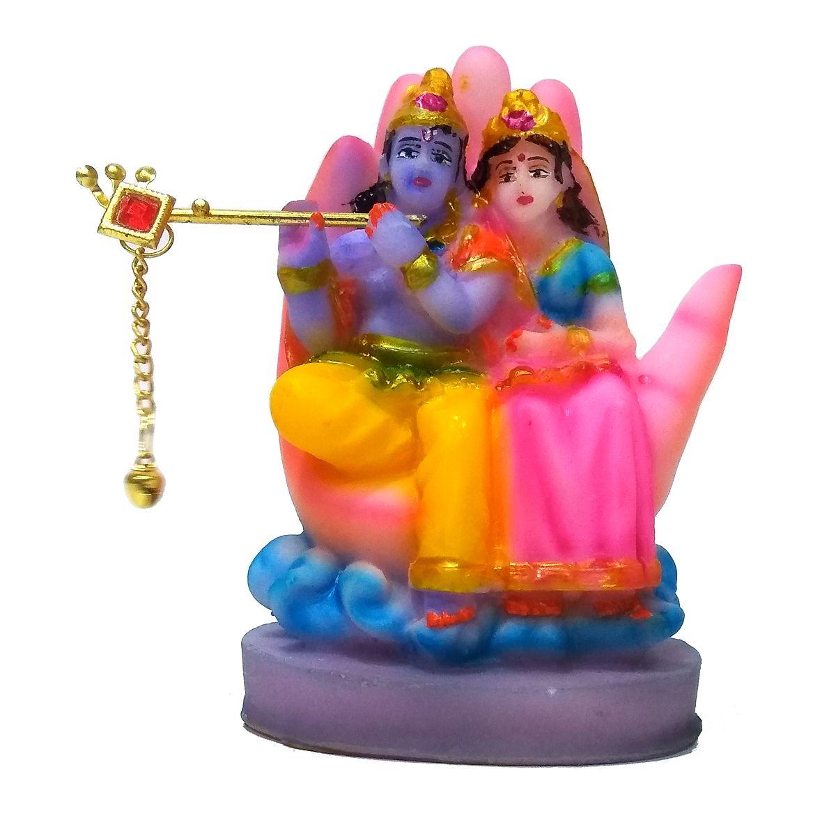VIDHI ARTS Radha Krishna Polyresin Idol