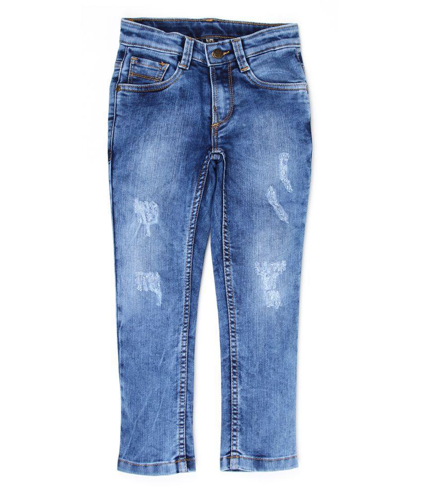 Flying Machine Boys Denim Distressed Jeans