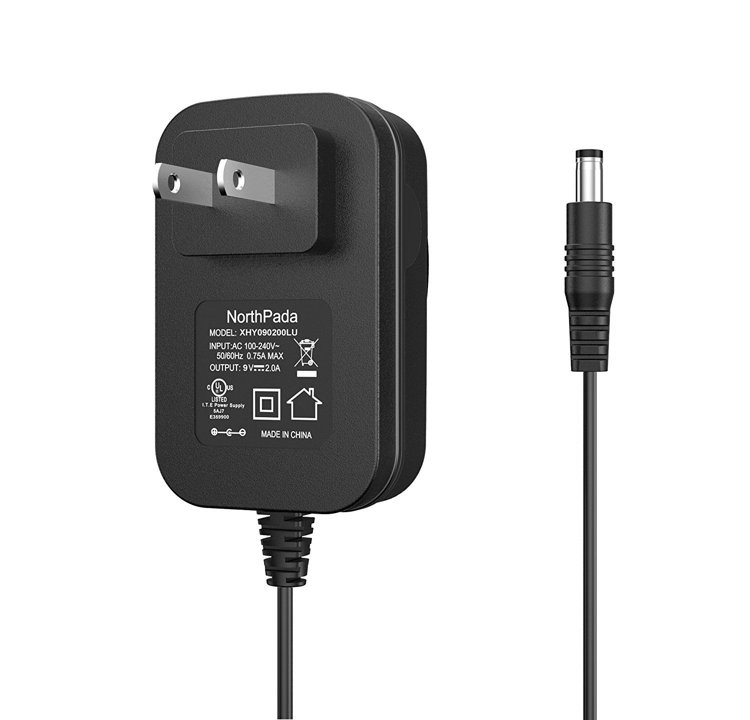 AC Power Adapter For Brother PT-2030 PT-2730 PT-1280 P-Touch Label Maker Charger