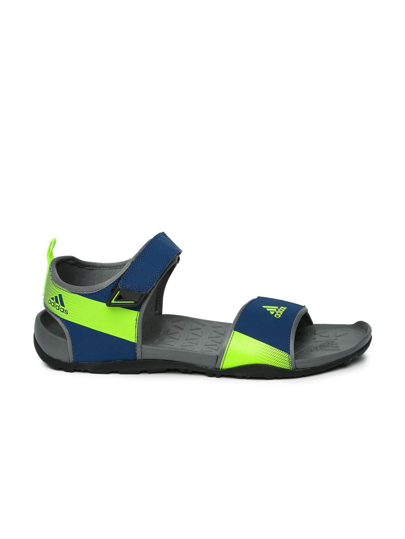 90736f1230dd Adidas Men Cyran M Sports Navy Sandals Price in India- Buy Adidas ...