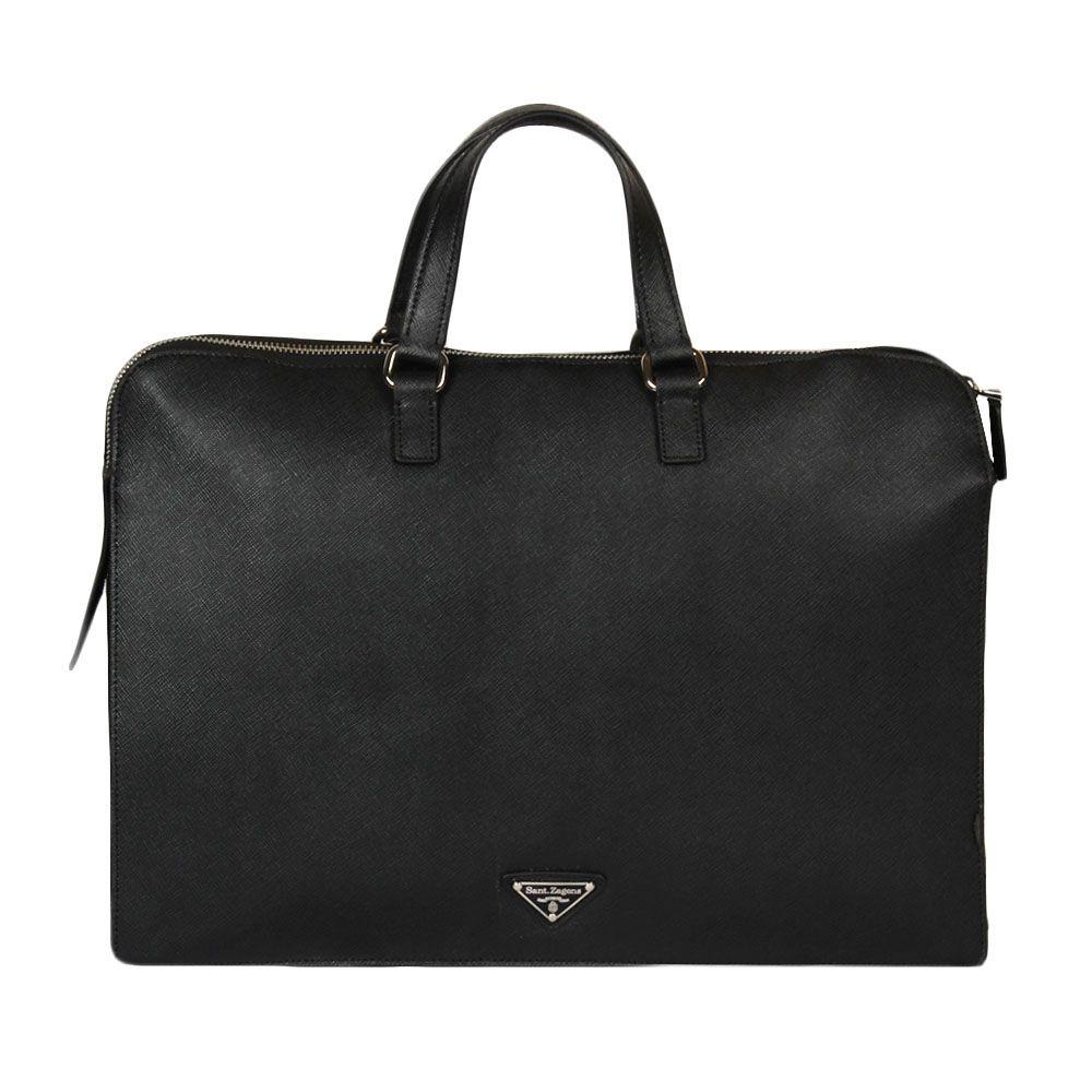 Bag'Mour Black Fabric Handheld