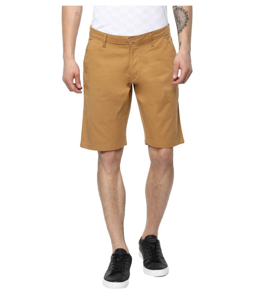 Urbano Fashion Khaki Shorts