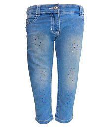 Kooka Kids Girls Regular Fit Denim Jeans