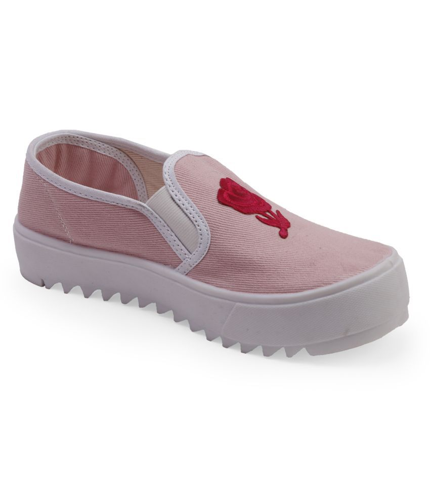 SCENTRA Pink Casual Shoes